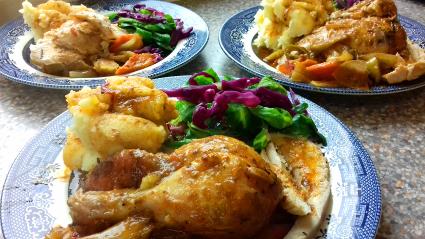 Kebda Roast Chicken Recipe