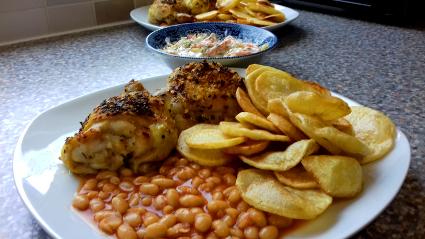 Chilli & Garlic Roast Thighs