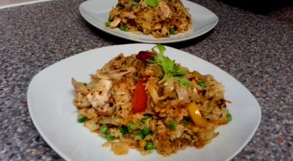 Chicken Stir Fried Rice recipe