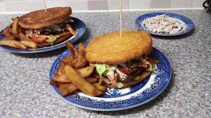 'Chinese' Burger!