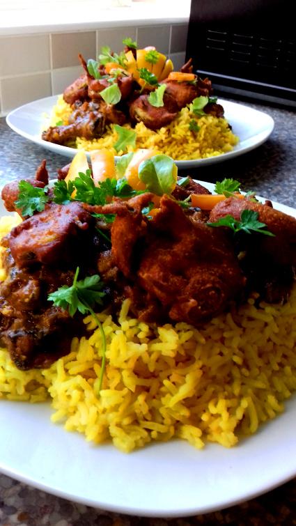 Courgette Bhaji recipe
