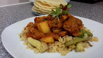 Fennel Pork Curry