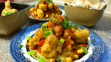 Sweet and Sour Turkey Nuggets