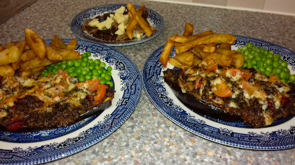 Aubergine Baked Boats