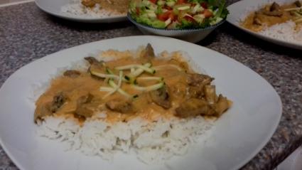 Beef Stroganoff recipe - Eat Well on Universal Credit