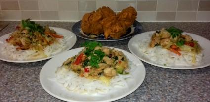 Fiji Style Spicy Chicken Chopsuey recipe