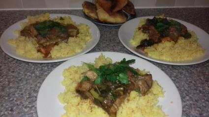 Skoudehkaris & Khamir recipe, eat well on Universal Credit