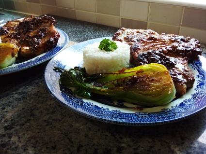Asian Pork Chops