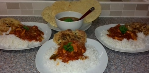 Eat Well on UC - Basic Chicken Curry