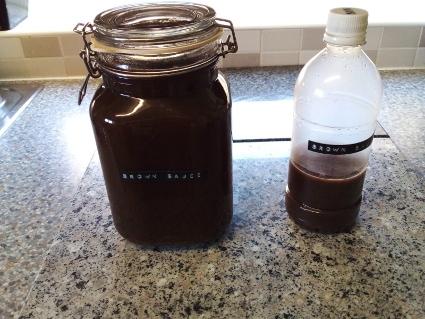 DIY Brown Sauce - Gluten Free