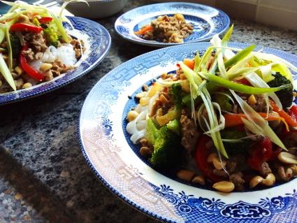 Stir Fry Char Sui Pork Mince & Broccoli
