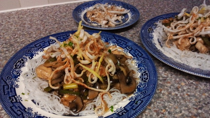 Chicken with Cashews and Ginger recipe