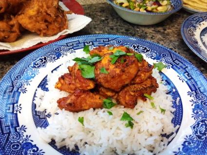 Chicken Tikka recipe, eat well on universal credit