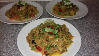 Arroz con Pollo recipe, Eat Well on Universal Credit