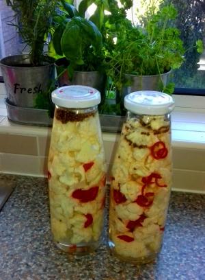 Lacto-Fermented Cauliflower recipe