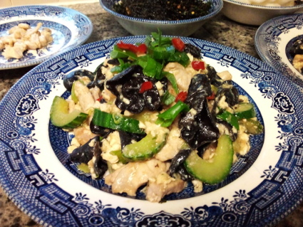 Moo Shu Pork recipe, eat well on universal credit