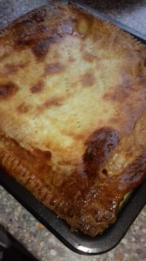 Chicken, Chorizo & Leek Pie recipe