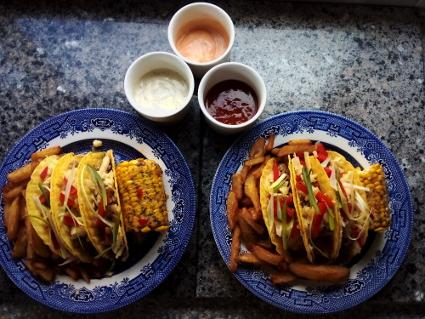 Char Sui Pork Taco Shells
