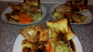 Spachcock Chicken recipe - Eat wel on Unoversal Credit